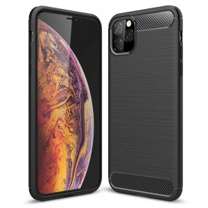 Carbon Case etui iPhone 11 Pro (czarny)