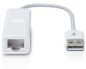 Apple USB-A Ethernet adapter