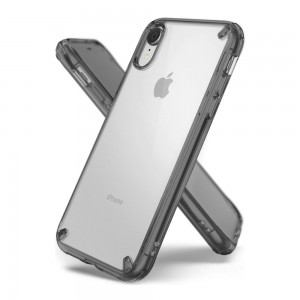 Ringke Fusion etui iPhone XR (Clear, Gray)