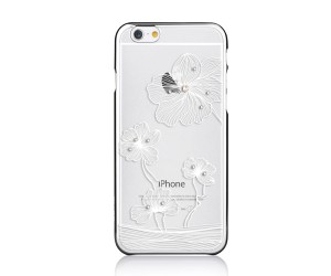 Comma Crystal Flora 360 Etui iPhone 6s/6 (Silver)