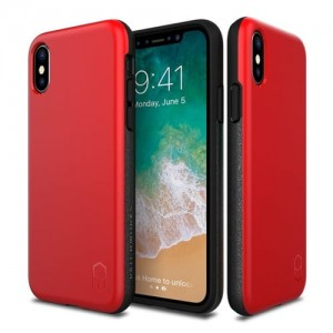 Patchworks Level ITG iPhone X Red / Black