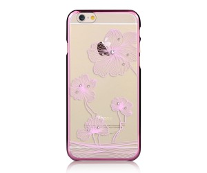 Comma Crystal Flora 360 Etui iPhone 6s/6 (Rose Gold)